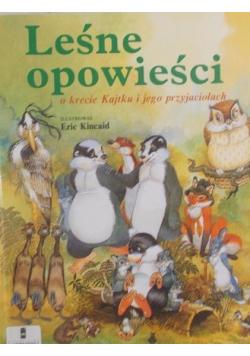 Leśne opowieści o krecie Kajtku i jego przyjaciołach