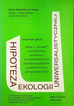 Hipoteza ekologii uniwersalnej