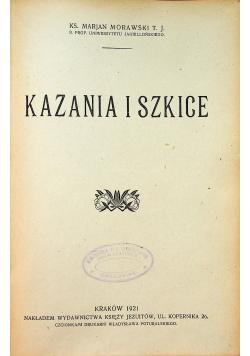 Kazania i szkice 1921 r