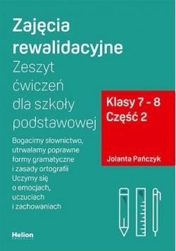 Zajęcia rewalidacyjne. Zeszyt ćw. SP 7-8 cz.2