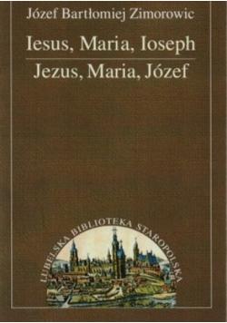 Jezus Maria Józef