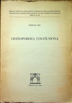Osteoporoza Uogólniona
