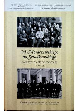 Od Moraczewskiego do Składkowskiego