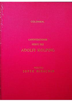 Colonizations servi dei  Adolf Kolping