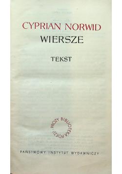 Norwid Wiersze