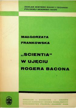 Scientia w ujęciu Rogera Bacona