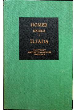 Homer i dzieła Iliada