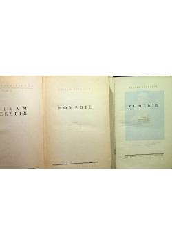 Szekspir Dzieła tom I i II