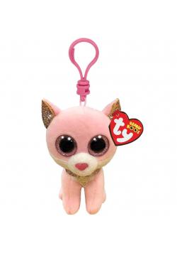 Beanie Boos Fiona - Różowy kot 8,5cm