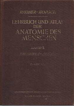 Lehrbuch und atlas der anatomie des menschen band II
