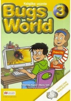 Bugs World 3 MACMILLAN Podręcznik wieloletni