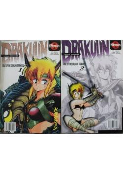 Drakuun Rise of the Dragon Princess numer 1 i 2