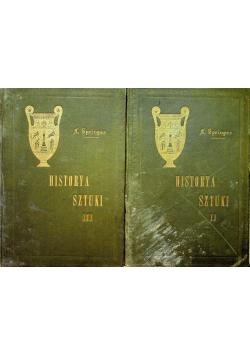 Historia sztuki 2 tomy 1903r.