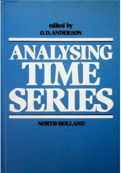 Analysing time series