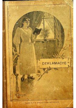 Deklamacye Zbiór poezyj 1899 r.