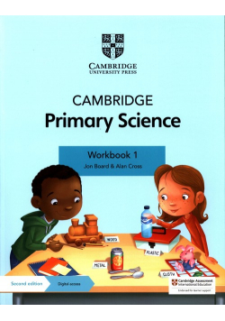 Cambridge Primary Science Workbook 1 with Digital access