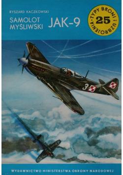 Samolot myśliwski JAK 9 Wydanie I