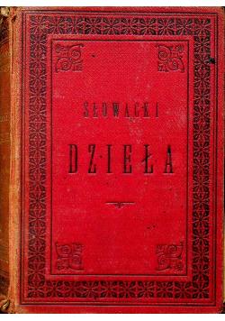 Słowacki Dzieła 1888 r.