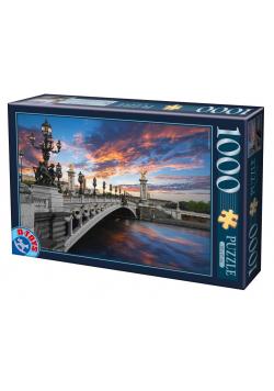 Puzzle 1000 Francja, Paryż- Most Aleksandra