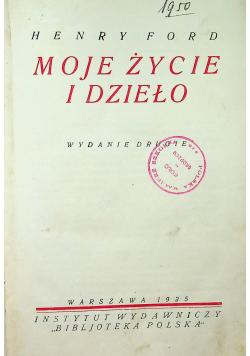 Moje życie i dzieło 1925 r.
