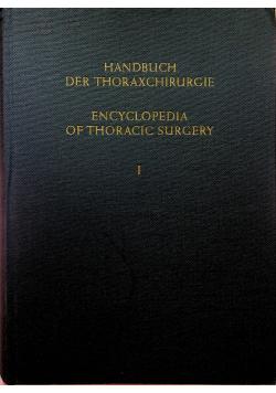 Handbuch der Thoraxchirurgie