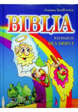 Biblia wierszem dla dzieci
