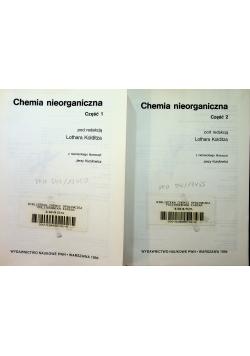 Chemia nieorganiczna tom 1 i 2