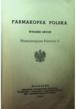 Farmakopea Polska wydanie drugie 1937r