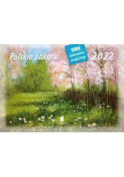 Kalendarz 2022 WL07 Polskie zakątki Kalendarz rodzinny
