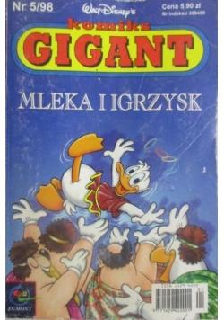 Komiks Gigant Mleka i igrzysk Nr 5