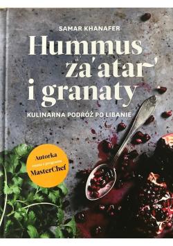 Hummus za atar i granaty