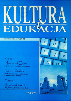 Kultura i edukacja nr 1