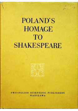 Polands homage to Shakespeare