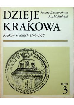 Dzieje Krakowa Kraków w latach 1796 1918  3