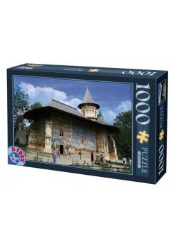 Puzzle 1000 Rumunia, Klasztor Voronet