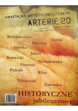 Arterie 23 Kwartalnik artystyczno literacki Nr 1