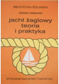 Jacht żaglowy Teoria i praktyka plus dedykacja