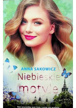Niebieskie motyle autograf Sakowicz