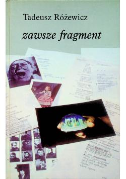 Zawsze fragment