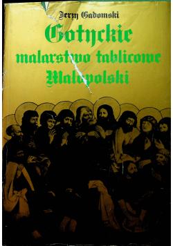 Gotyckie malarstwo tablicowe małopolski