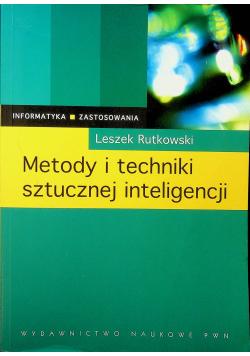 Metody techniki sztucznej inteligencji