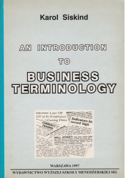An introduction to business terminology