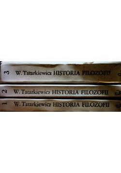 Historia filozofii tom od 1 do 3