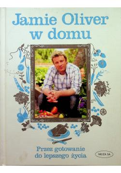 Jamie Oliver w domu