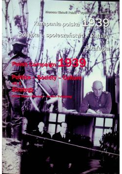 Kampania polska 1939 Polityka społeczeństwo kultura