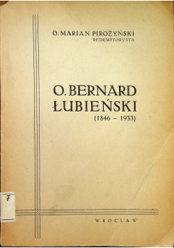 O Bernard Łubieński 1946 r