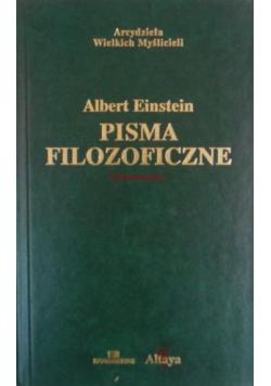 Einstein Pisma filozoficzne