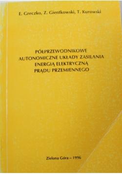 Półprzewodnikowe autonomiczne układy zasilania energią elektryczną