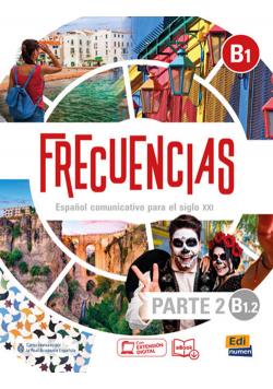 Frecuencias B1.2 parte 2 Podręcznik do języka hiszpańskiego