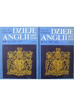 Dzieje Anglii 1485 1939 Tom I i II